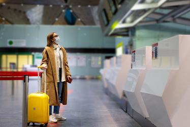 Derechos de los viajeros a causa del temporal Filomena
